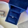 Классическое кольцо с круглым бриллиантом 0.40 карата, Изображение 5