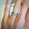 Кольцо дорожка с 7 бриллиантами, Изображение 3