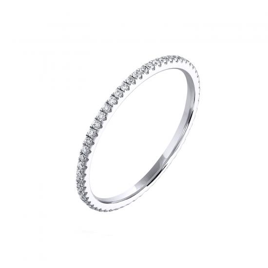 Кольцо дорожка с бриллиантами,  Больше Изображение 3