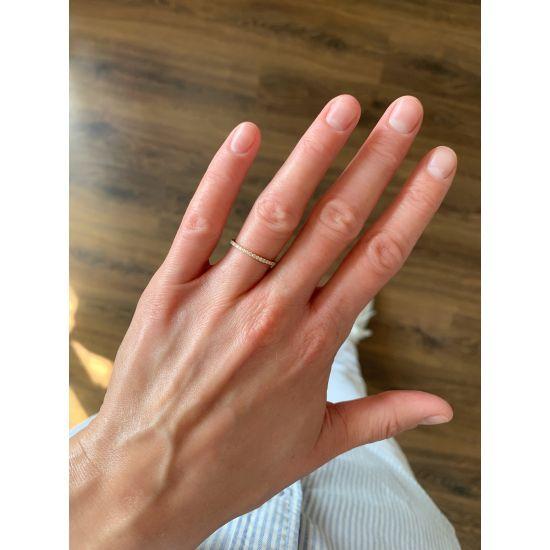 Кольцо дорожка с бриллиантами,  Больше Изображение 5