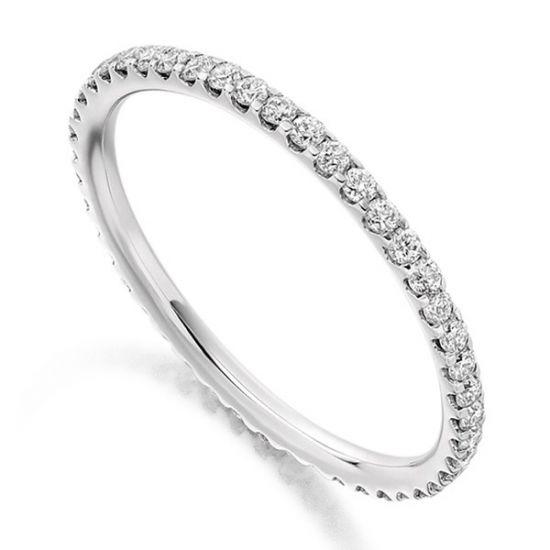 Кольцо дорожка с бриллиантами,  Больше Изображение 2