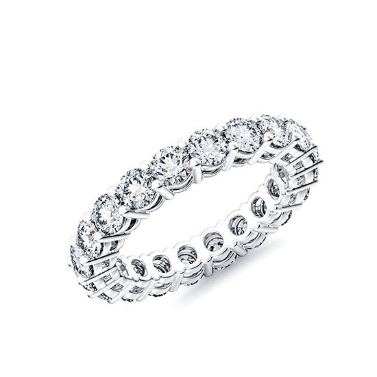 Кольцо дорожка с бриллиантами 3 мм, Больше Изображение 1