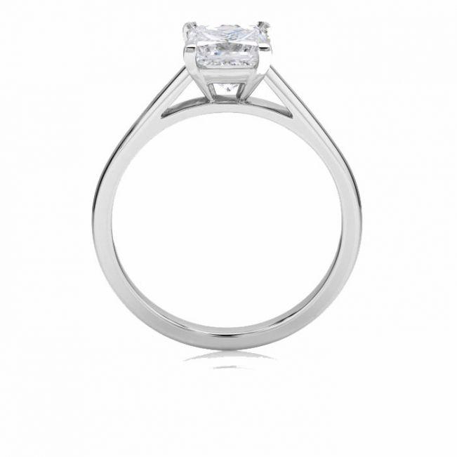 Кольцо с бриллиантом Принцесса - Фото 1