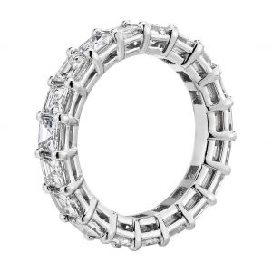 Кольцо дорожка с бриллиантами Ашер 4 карата