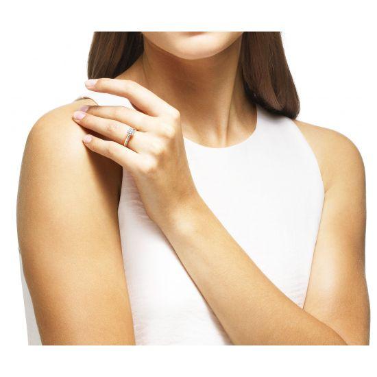 Кольцо с бриллиантом 0.5 карата,  Больше Изображение 6
