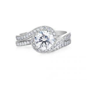 Кольцо с бриллиантом от 0.50 карата