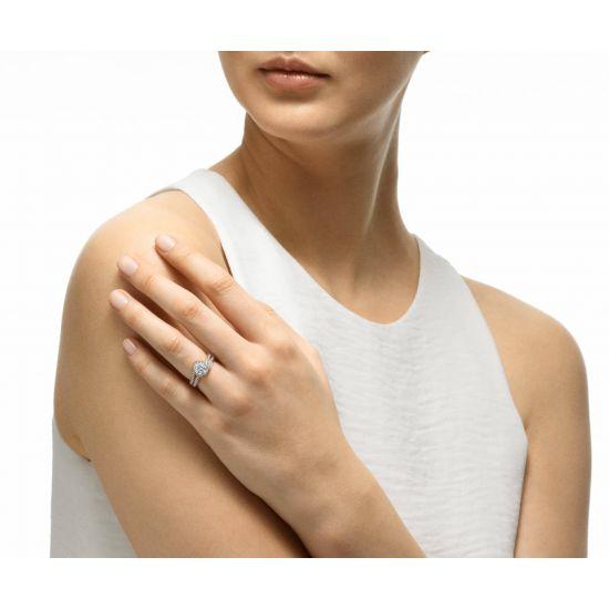 Кольцо с бриллиантом 0.50 кт,  Больше Изображение 5