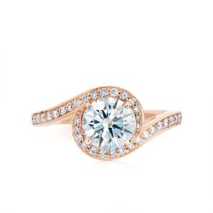 Кольцо с бриллиантом 0.50 карата
