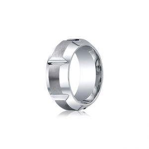 Мужское кольцо без драгоценных камней