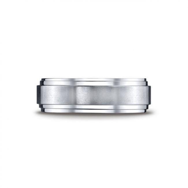 Мужское кольцо из золота без камнй - Фото 1