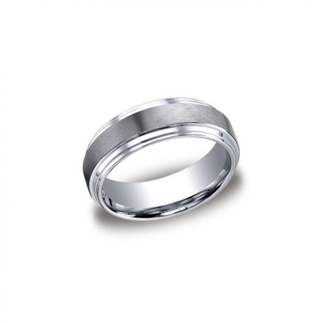 Мужское кольцо из золота без камнй - Фото 2