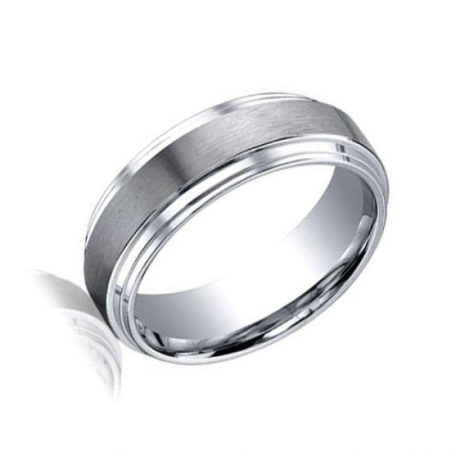 Мужское кольцо из золота без камнй