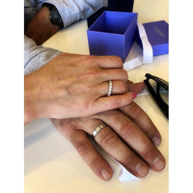 Мужское кольцо из золота без камнй - Фото 4