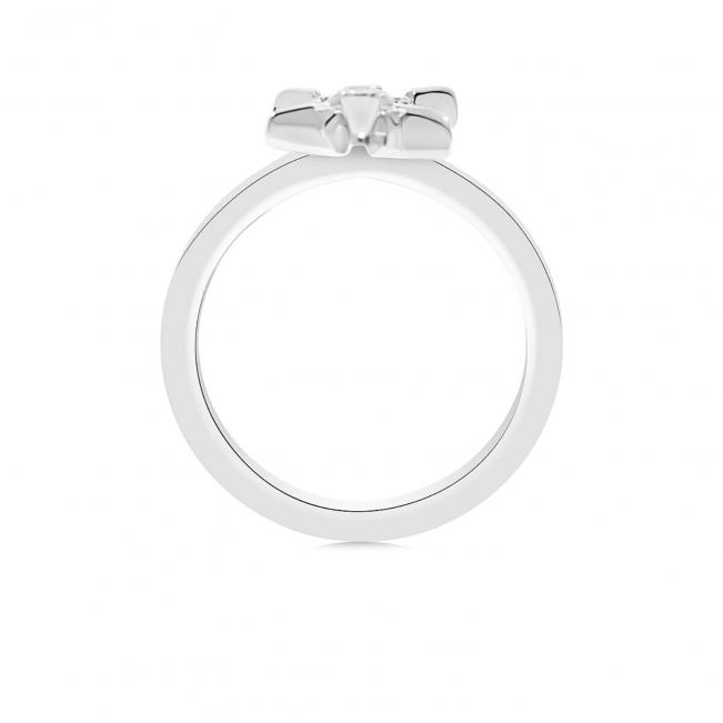 Кольцо с бриллиантами Звезда
