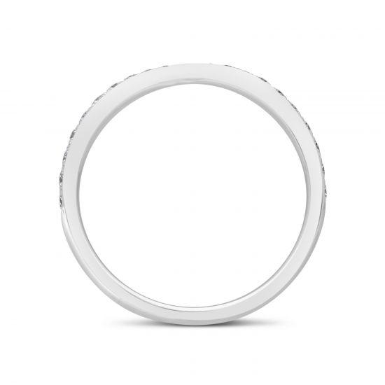 Кольцо дорожка с бриллиантами «бантик»,  Больше Изображение 4