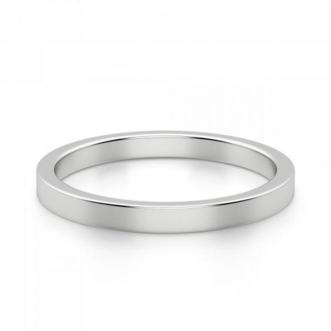 Кольцо простое золотое - Фото 1
