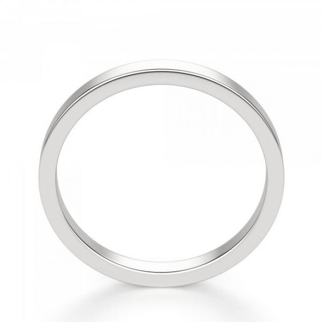 Кольцо простое золотое - Фото 2