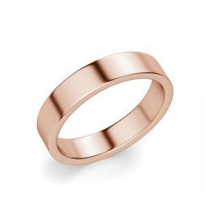 Кольцо из розового золота 750 пробы