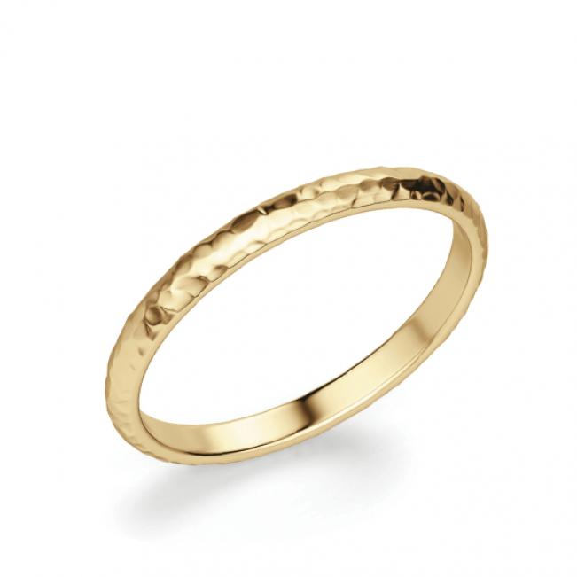Кольцо простое из золота