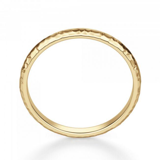 Кольцо простое из золота - Фото 1