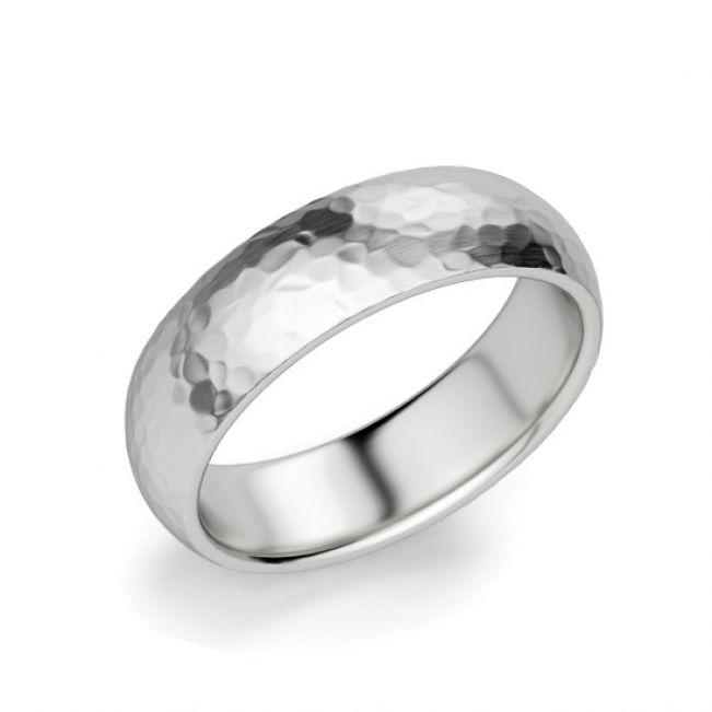 Кольцо мужское 6 мм из золота