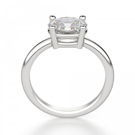 Кольцо с перевернутым овальным бриллиантом,  Больше Изображение 2