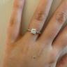 Кольцо с квадратным бриллиантом Принцесса, Изображение 4