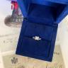 Двойное кольцо с бриллиантом Принцесса, Изображение 6