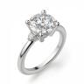 Кольцо с 3 круглыми бриллиантами, Изображение 3