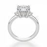 Кольцо с 3 круглыми бриллиантами, Изображение 2