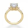Кольцо с центральным и боковыми бриллиантами, Изображение 2