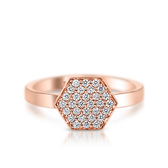 Кольцо с бриллиантами Miel, Больше Изображение 1