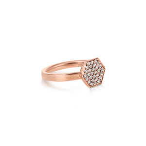 Кольцо с бриллиантами Miel - Фото 1