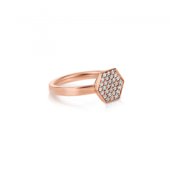 Кольцо с бриллиантами Miel,  Больше Изображение 2