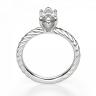 Кольцо с бриллиантом маркиз из белого золота, Изображение 2