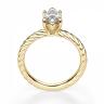 Кольцо с бриллиантом маркиз из золота, Изображение 2