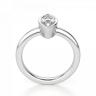 Кольцо с бриллиантом маркиз в белом золоте, Изображение 2