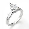 Кольцо с бриллиантом капля, Изображение 3