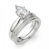 Кольцо с бриллиантом капля, Изображение 5