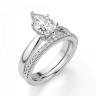 Кольцо с бриллиантом капля, Изображение 6