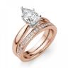 Кольцо с бриллиантом капля в 6 лапках, Изображение 5