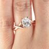 Кольцо с овальным бриллиантом, Изображение 7