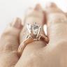 Кольцо с овальным бриллиантом, Изображение 8