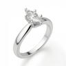 Кольцо с бриллиантом маркиз в 6 лапках, Изображение 3