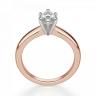 Кольцо с бриллиантом маркиз на претеной шинке, Изображение 2