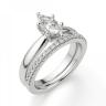 Кольцо с бриллиантом маркиз в 6 лапках, Изображение 6
