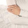 Кольцо с бриллиантом маркиз в 6 лапках из золота, Изображение 8