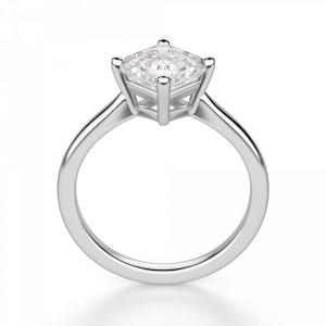 Кольцо с бриллиантом ашер