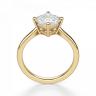Кольцо с перевернутым бриллиантом ашер, Изображение 2