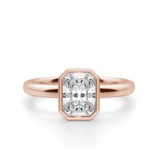 Кольцо с бриллиантом радиант